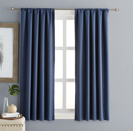 Room Darkening Curtains   Walmart Canada Intended For Caldwell Curtain Panel Pairs (View 15 of 27)