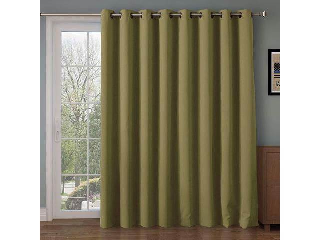 Rose Home Fashion Rhf Function Curtain Wide Thermal Blackout Patio Door  Curtain Panel, Sliding Door Insulated Curtains,extra Wide Curtains,vertical With Regard To Grommet Blackout Patio Door Window Curtain Panels (View 35 of 50)