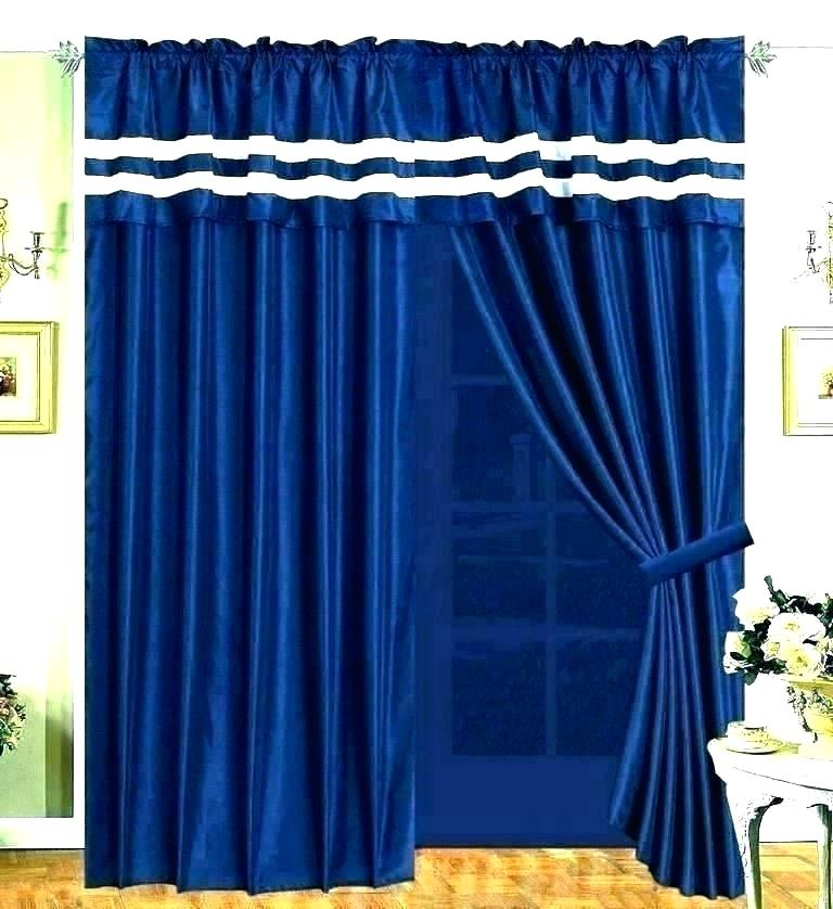 Royal Blue Curtain Panels – Naseef (#26 of 41)