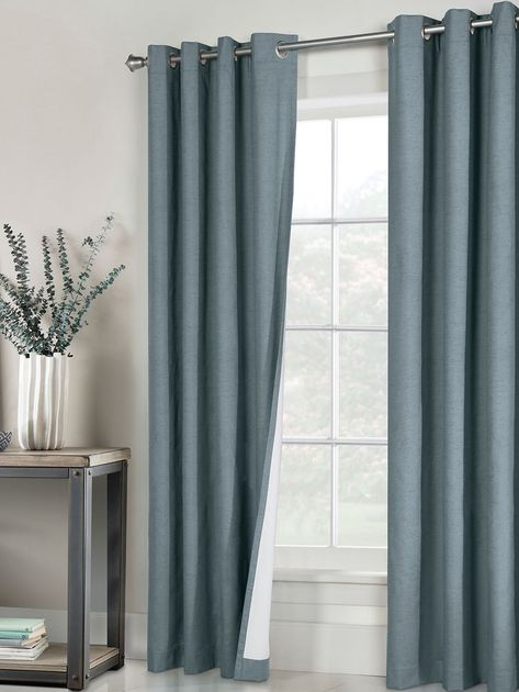 Rt Designers Collection Nikki Faux Silk Rod Pocket Curtain Within The Curated Nomad Duane Jacquard Grommet Top Curtain Panel Pairs (#22 of 50)