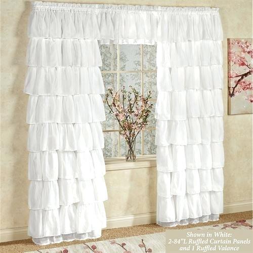 Ruffle Curtain Panels – Bellate (#24 of 50)