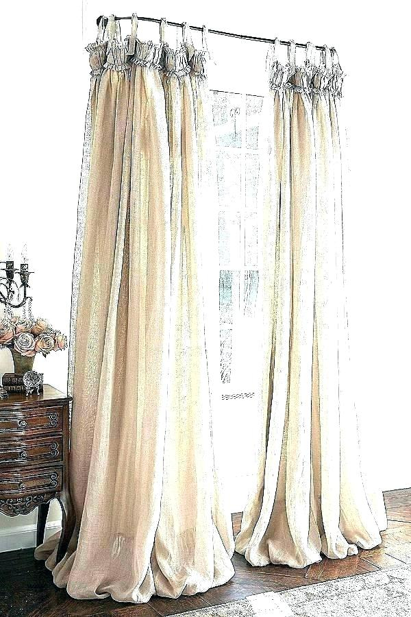 Inspiration about Ruffle Curtain Panels – Polarbit.co In Sheer Voile Waterfall Ruffled Tier Single Curtain Panels (#32 of 50)