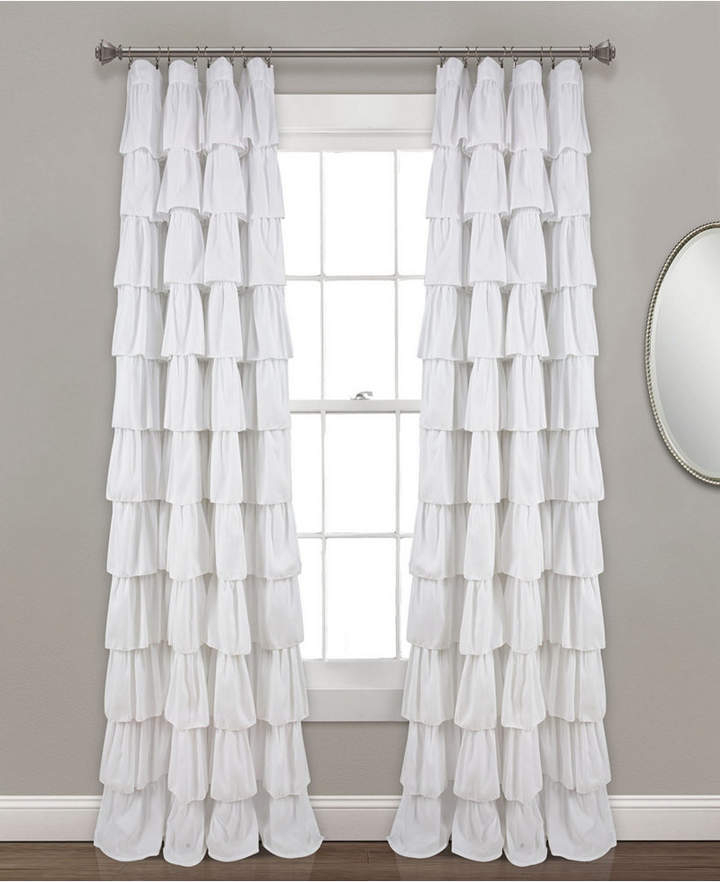 Inspiration about Ruffle Window Curtain Panel, 50X95 In 2019 | Products Intended For The Gray Barn Gila Curtain Panel Pairs (#4 of 48)