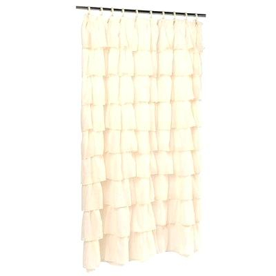 Inspiration about Ruffled Tier Curtains – Shubhanga Regarding Sheer Voile Waterfall Ruffled Tier Single Curtain Panels (#28 of 50)