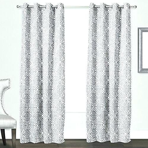 S White Thermal Curtains Details About Off Insulated Regarding Insulated Blackout Grommet Window Curtain Panel Pairs (#31 of 37)