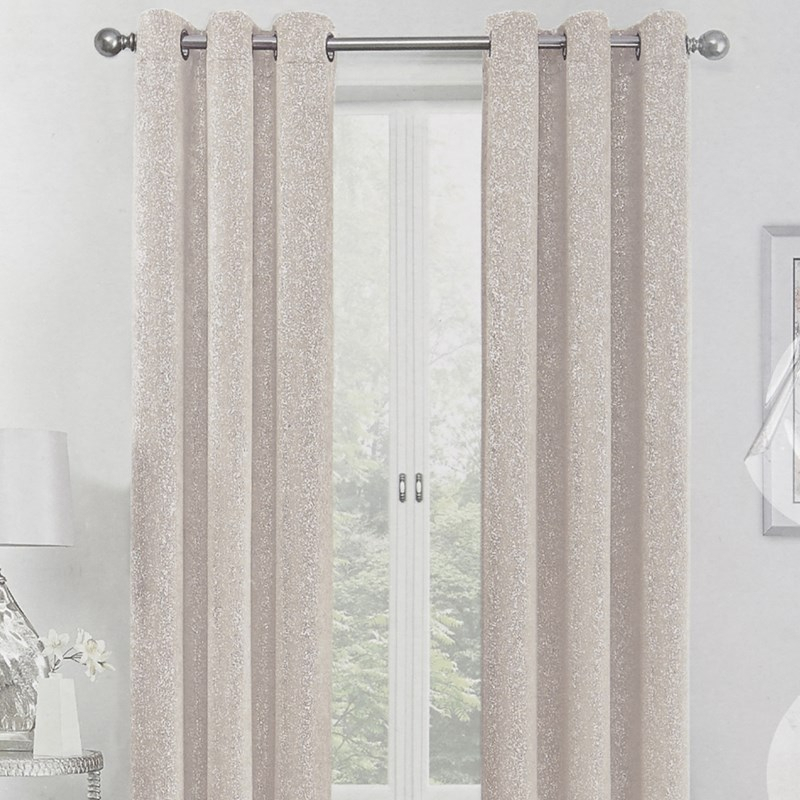Sadie 2 Pack Blackout Grommet Top Blackout Window Curtains With Regard To Total Blackout Metallic Print Grommet Top Curtain Panels (#39 of 50)