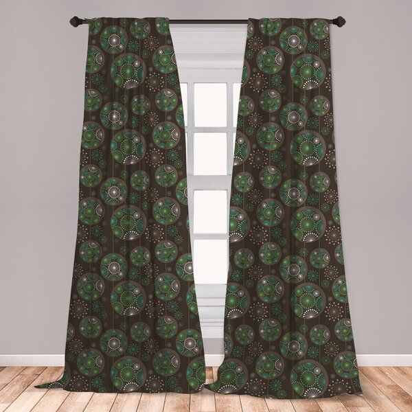Sage Curtains   Wayfair Intended For Baroque Linen Grommet Top Curtain Panel Pairs (View 38 of 48)