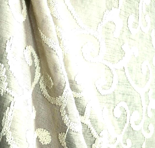Sage Green Lace Curtains – Giyg For Meridian Blackout Window Curtain Panels (#42 of 50)