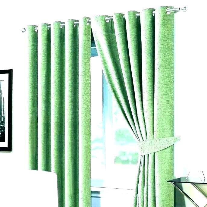 Sage Green Striped Curtains Shower Curtain Olive – Parasolauto Pertaining To Montpellier Striped Linen Sheer Curtains (#37 of 50)
