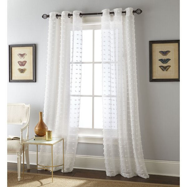 Sand Color Curtains | Wayfair Regarding Luxury Collection Cranston Sheer Curtain Panel Pairs (View 31 of 42)