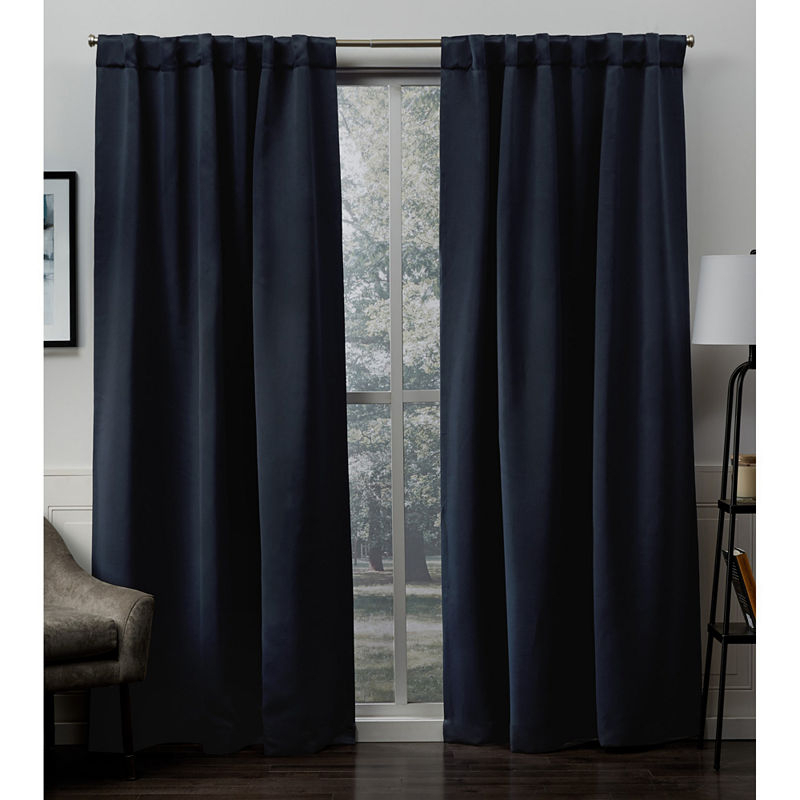 Sateen Multi Pack Energy Saving Blackout Back Tab Curtain Regarding Copper Grove Fulgence Faux Silk Grommet Top Panel Curtains (View 34 of 50)