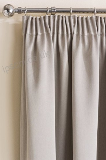 Sateen Woven Blackout Natural Pencil Pleat Tape Top Unlined Within Sateen Woven Blackout Curtain Panel Pairs With Pinch Pleat Top (#37 of 40)