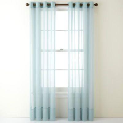Scenic Grommet Top Sheer Curtains – Uibucket (View 28 of 37)