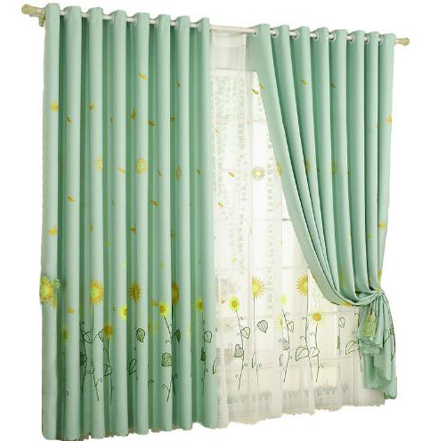 Sea Foam Green Curtains | Best Home Decorating Ideas Intended For Copper Grove Fulgence Faux Silk Grommet Top Panel Curtains (View 37 of 50)