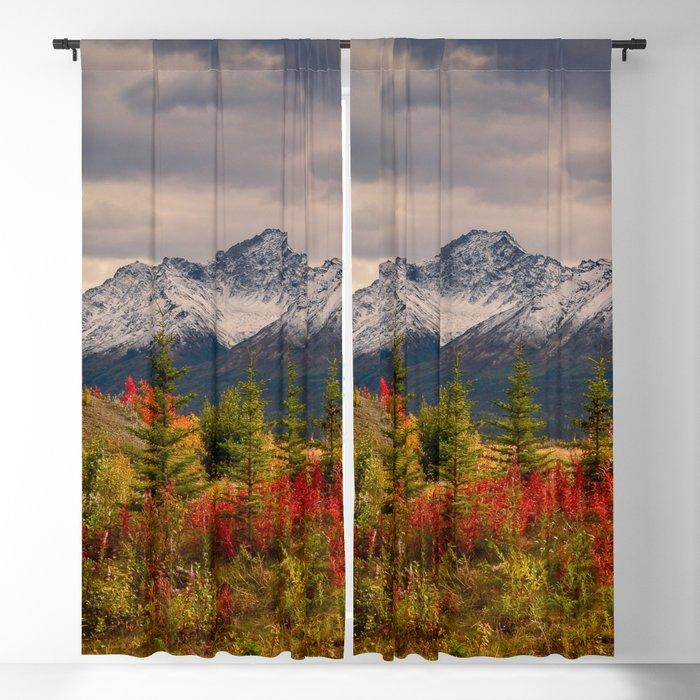 Seasons Turning Blackout Curtainalaskanmommabear Throughout All Seasons Blackout Window Curtains (#40 of 48)