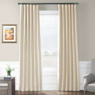 Semi Opaque Cottage White Bellino Blackout Curtain – 50 In. W X 108 In (View 35 of 45)