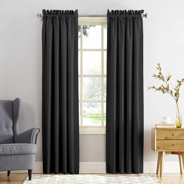 Service Manual On Porch & Den Inez Room Darkening Window Throughout Vina Sheer Bird Single Curtain Panels (#21 of 38)