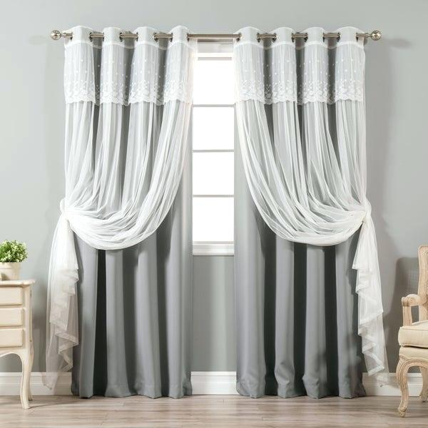 Sheer And Blackout Curtains – Carpimad (View 32 of 50)