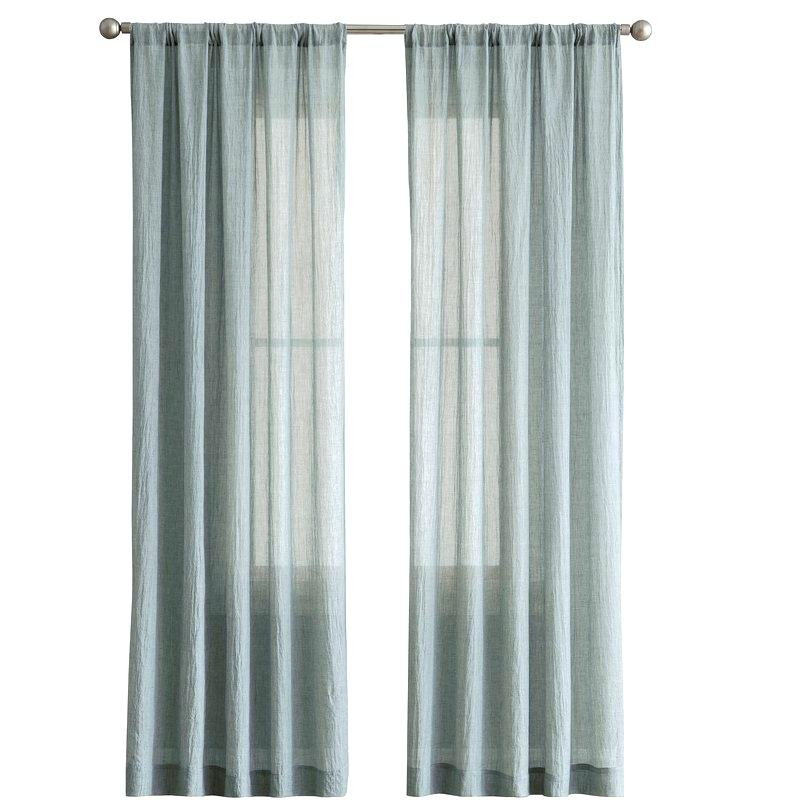 Sheer Cotton Curtain Panels – Littlepony (View 38 of 47)