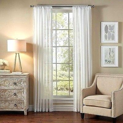 Sheer Curtain Panels Amazon – Clickandteach (View 49 of 50)
