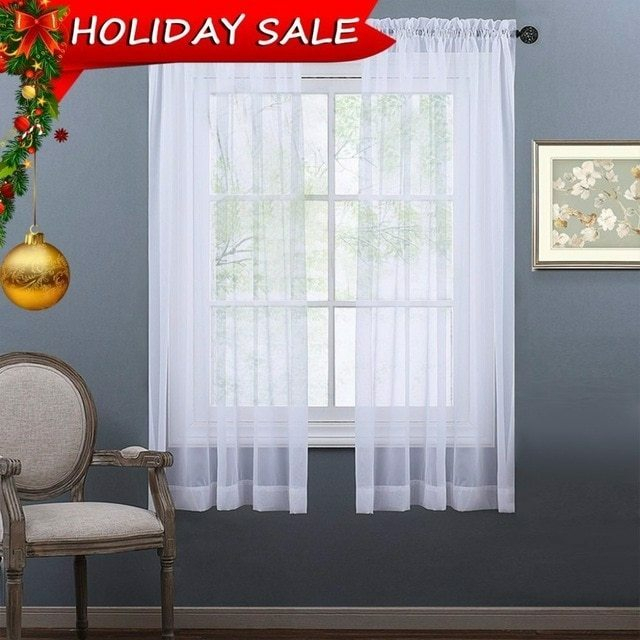 Sheer Curtain Panels – Arando (#29 of 38)