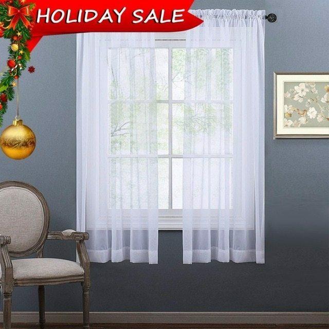 Sheer Curtain Panels – Arando (View 32 of 38)