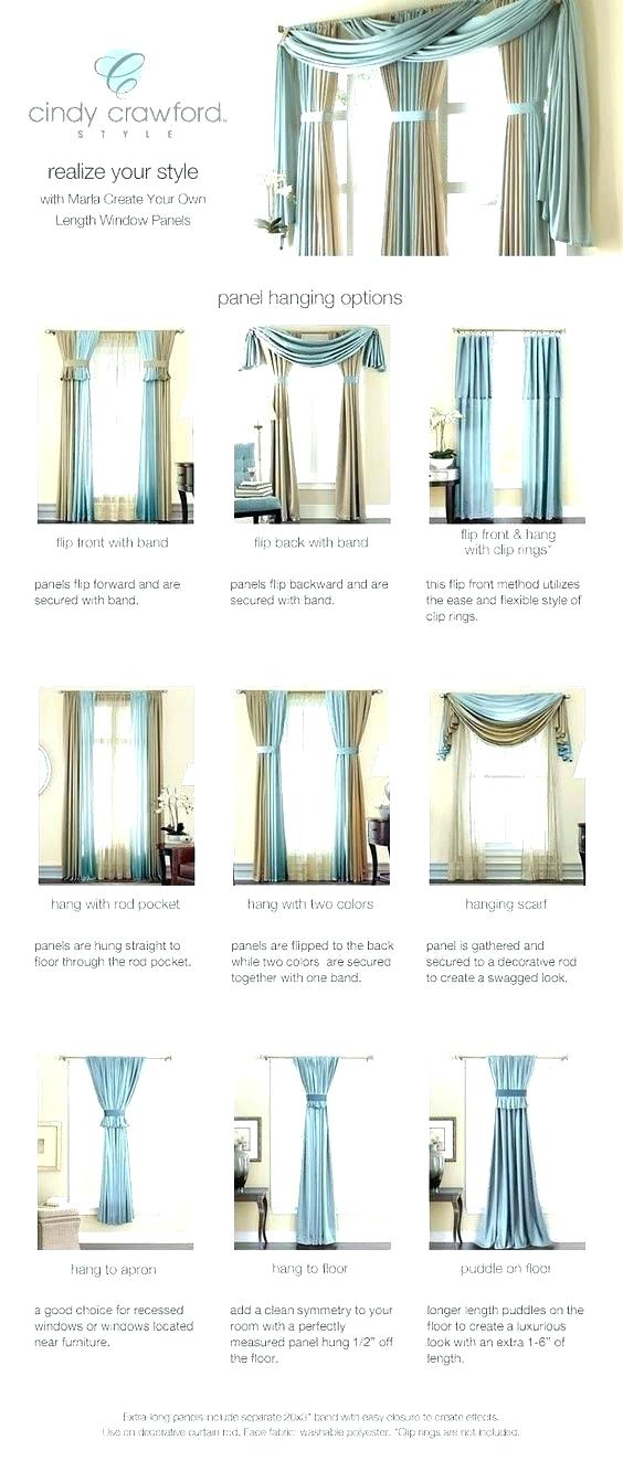 Sheer Curtain Scarf Ideas Valance Infinity Window Curtains Intended For Infinity Sheer Rod Pocket Curtain Panels (#33 of 50)