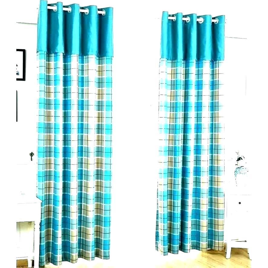 Sheer Curtains Turquoise – Vinakenton (#27 of 38)