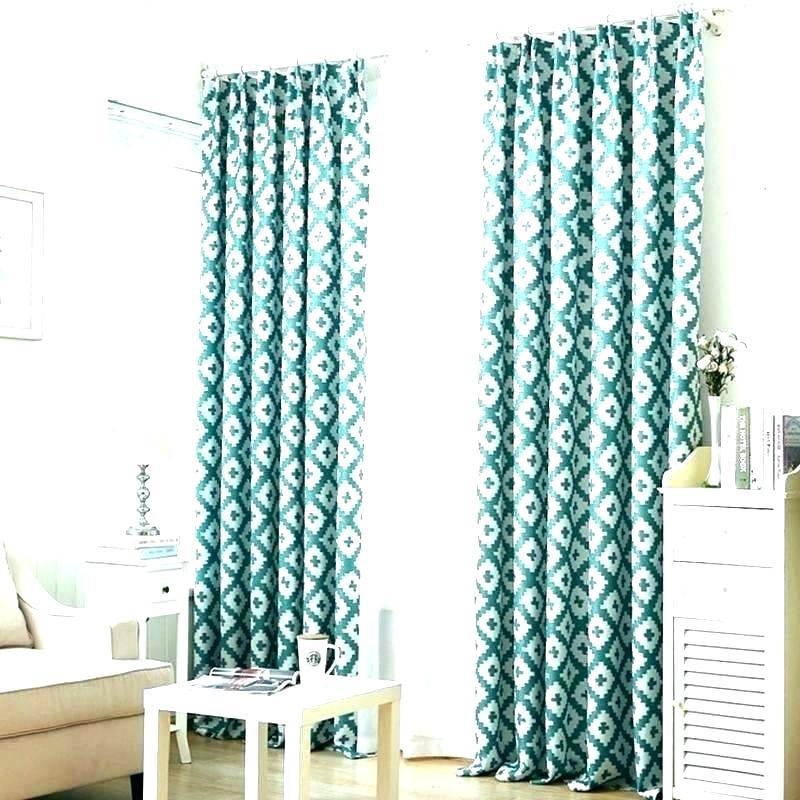 Sheer Curtains Turquoise – Vinakenton (#28 of 38)