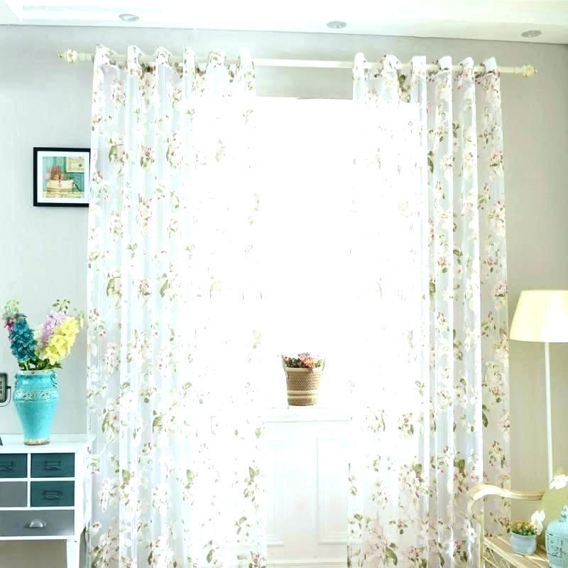 Sheer Door Curtain Panel – Mobilejesus (View 34 of 50)