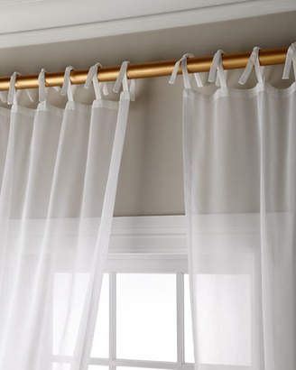 Sheer Drape – Shopstyle Intended For Elrene Jolie Tie Top Curtain Panels (#19 of 35)