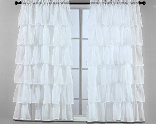 Sheer | Draperies & Curtains Inside Luxury Collection Monte Carlo Sheer Curtain Panel Pairs (#24 of 29)