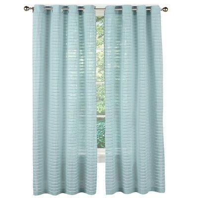 Sheer Grommet Top Window Panel Curtains – Sage Green – Pair Within Sugar Creek Grommet Top Loha Linen Window Curtain Panel Pairs (View 25 of 50)