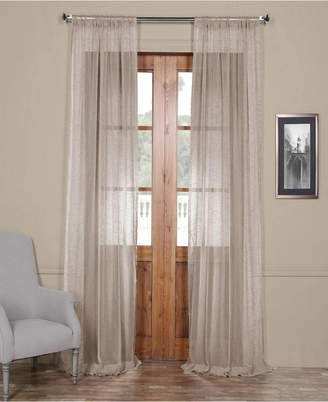 Sheer Linen Drapery – Shopstyle With Regard To Montpellier Striped Linen Sheer Curtains (#43 of 50)