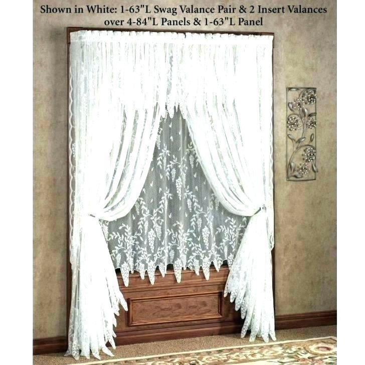 Sheer Ruffled Curtains – Mopayitforward With Regard To Sheer Voile Ruffled Tier Window Curtain Panels (View 31 of 50)