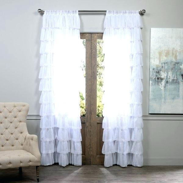 Sheer Ruffled Curtains – Stmarkcathedral In Sheer Voile Ruffled Tier Window Curtain Panels (View 25 of 50)