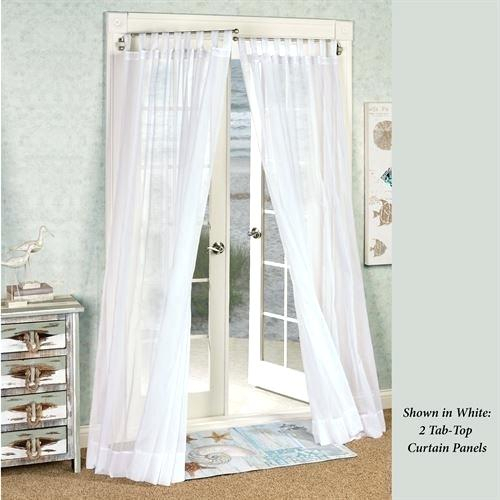Sheer Voile Curtain Panels – Caleche (View 26 of 41)