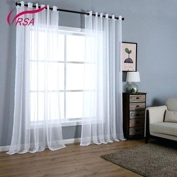 Sheer Voile Curtain Panels – Caleche (View 25 of 41)