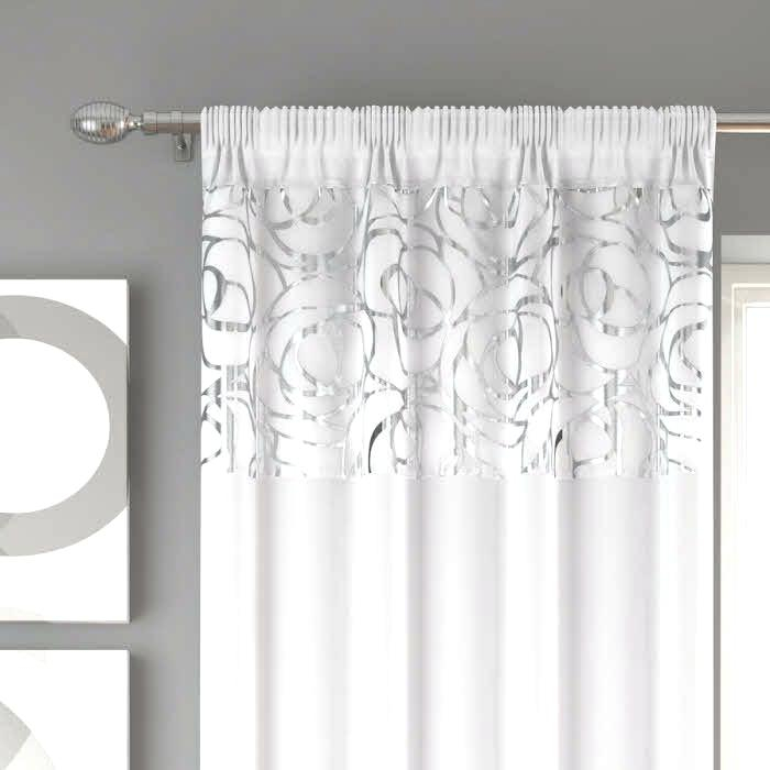 Sheer Voile Curtain Panels – Caleche (View 27 of 41)