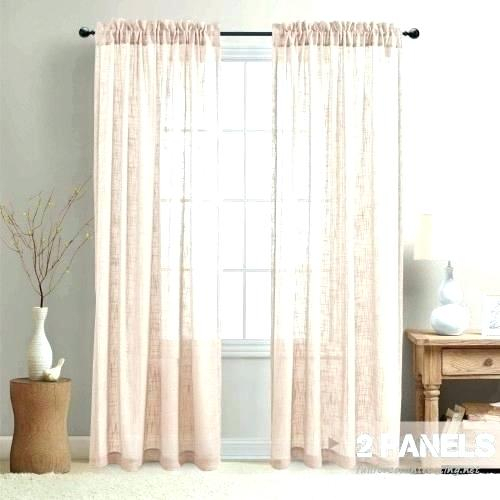Sheer Voile Curtain Panels – Caleche (View 45 of 50)