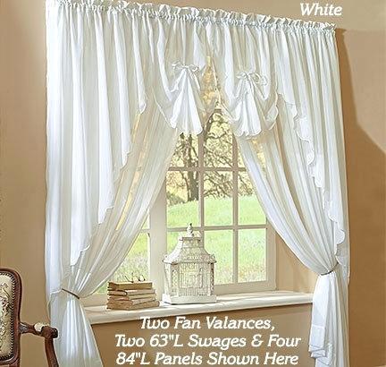 Sheer Voile Curtain Panels – Idreyn Inside Erica Crushed Sheer Voile Grommet Curtain Panels (#43 of 50)