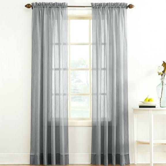 Sheer Voile Curtain Panels – Outofhiding (View 40 of 50)