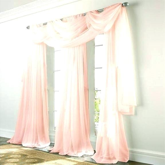 Sheer Voile Curtain Panels – Ssbrumble For Erica Sheer Crushed Voile Single Curtain Panels (#38 of 41)