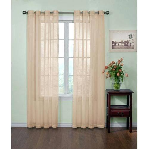 Sheer Voile Curtain Panels – Ssbrumble With Erica Crushed Sheer Voile Grommet Curtain Panels (#46 of 50)