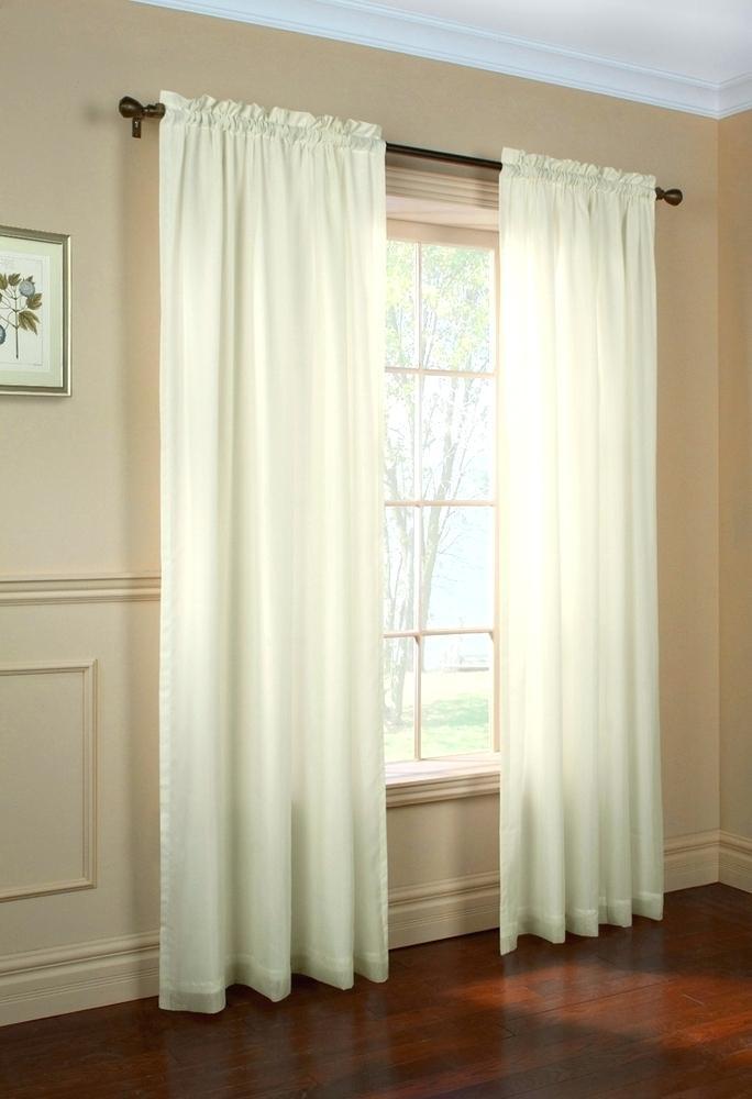 Sheer Voile Curtain Panels – Stavitel For Erica Crushed Sheer Voile Grommet Curtain Panels (#47 of 50)