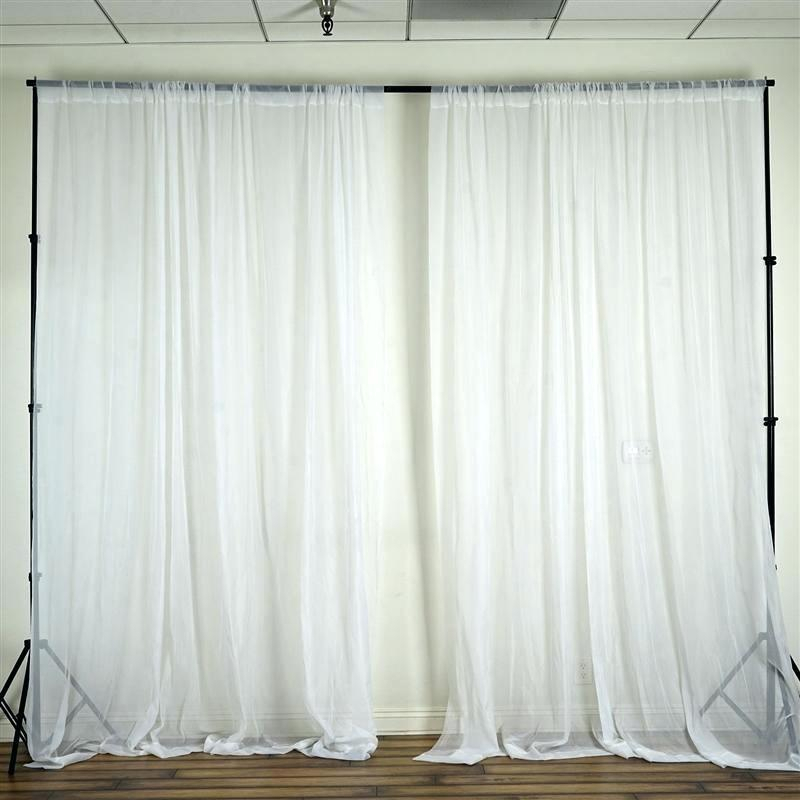 Sheer Voile Curtains – Horamite Inside Emily Sheer Voile Single Curtain Panels (View 35 of 41)