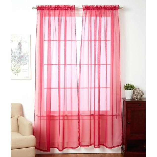 Sheer Voile Curtains – Horamite Throughout Emily Sheer Voile Single Curtain Panels (View 36 of 41)