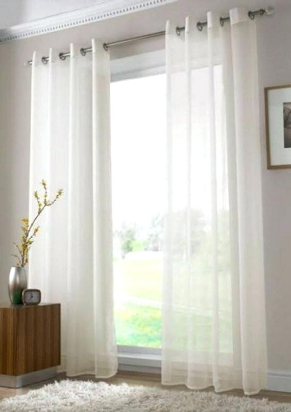 Sheer Voile Curtains Sheer Voile Curtains Eyelet Sheer Voile Inside Emily Sheer Voile Single Curtain Panels (View 32 of 41)