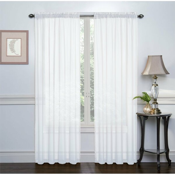 Sheer Voile Curtains | Wayfair With Regard To Emily Sheer Voile Single Curtain Panels (View 34 of 41)