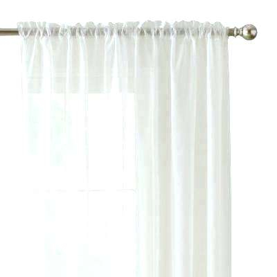 Sheer White Curtains – Borrowmytopic (View 35 of 45)